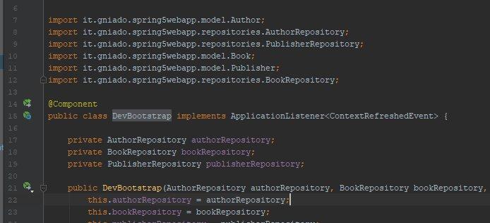 Kurs Springa – część 3 – Wprowadzanie danych inicjalnych do aplikacji